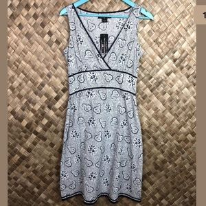 Polo Jeans Company Ralph Lauren Sz 8 Paisley Dress